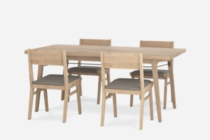 Miles Dining Table With 4 Chairs Castlery United States