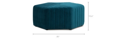 dimension of Julian Large Pouf