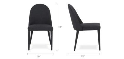 dimension of Pamela Chair