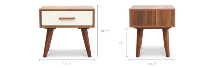 dimension of Underwood Side Table
