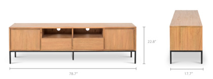 dimension of Alexander TV Stand, Long