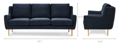 dimension of Adelphi Sofa