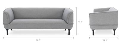 dimension of Bickerton Sofa