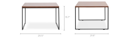 dimension of Harris Coffee Table Tall