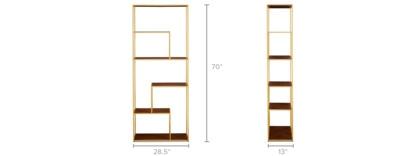 dimension of Piper Shelf