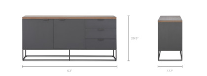 dimension of Alfred Sideboard