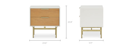 dimension of Isla Side Table