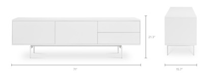 dimension of Arvid TV Stand