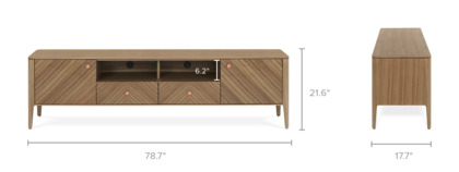 dimension of Charlie TV Stand