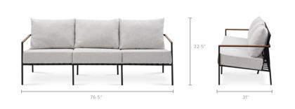 dimension of Sorrento Outdoor Sofa