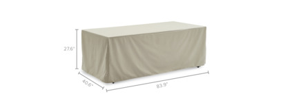 dimension of Sorrento Outdoor Dining Table Cover
