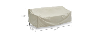 dimension of Sorrento Outdoor Sofa Cover