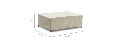 dimension of Maui Outdoor Coffee Table Cover